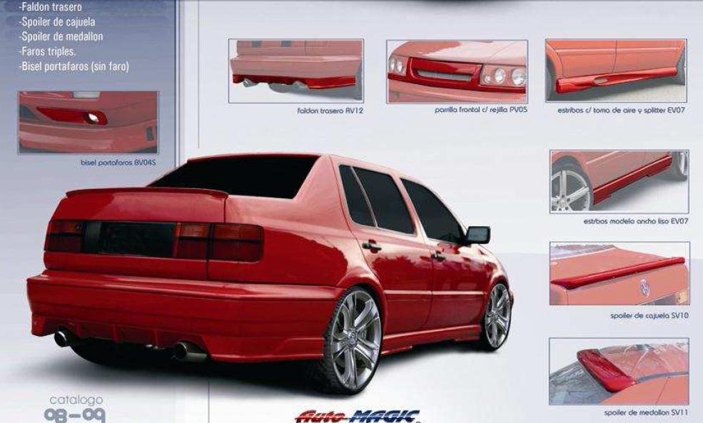 Spoiler Aleron Ancho De Cajuela Jetta A3 Automagic Sp0 - $ 599.00 ...
